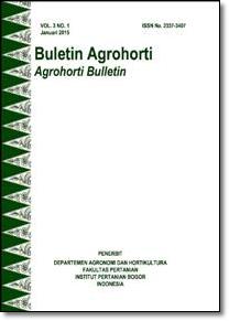 Vol 3, No 1 (2015): Buletin Agrohorti