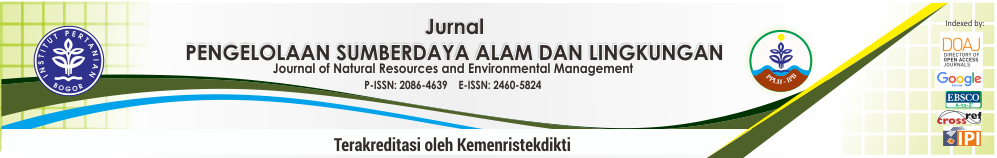 Jurnal Pengelolaan Sumberdaya Alam dan Lingkungan (JPSL)