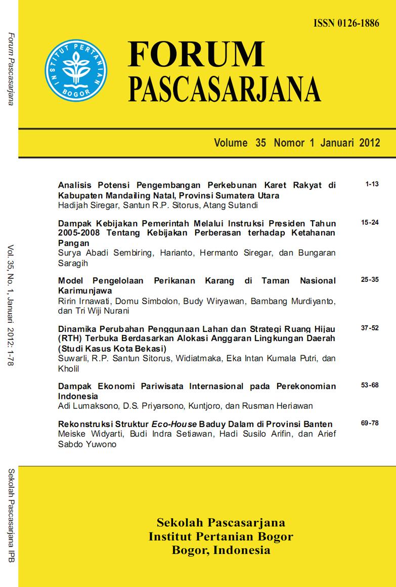 Volume 35 No. 1 Tahun 2012